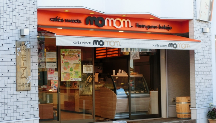 cafe & sweets  momom 〒286-0033 千葉県成田市花崎町839-12